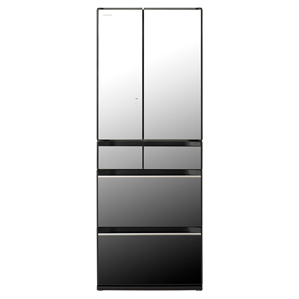 【送料無料】日立 R-KX57K クリスタルミラー [冷蔵庫(567L・フレンチドア)] 【代引き・後払い決済不可】【離島配送不可】