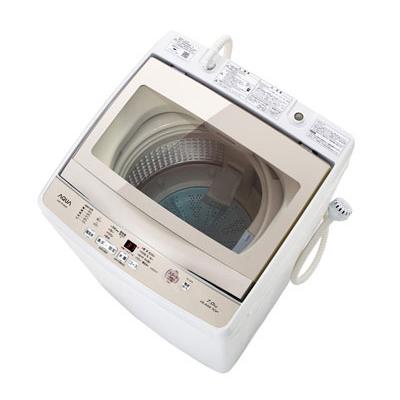 【送料無料】AQUA AQW-GP70G ホワイト [簡易乾燥機能付洗濯機(7.0kg)]
