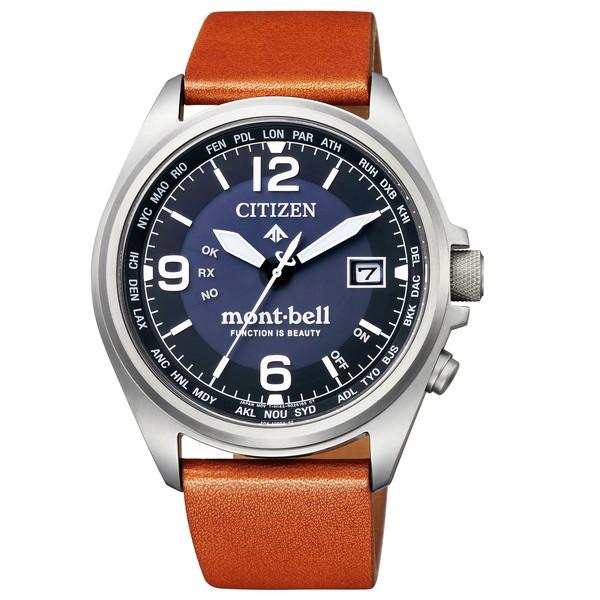 CITIZEN(シチズン) CB0171-11L プロマスター エコ・ドライブ mont-bell コラボレーションモデル [エコドライブ電波腕時計(メンズ)]