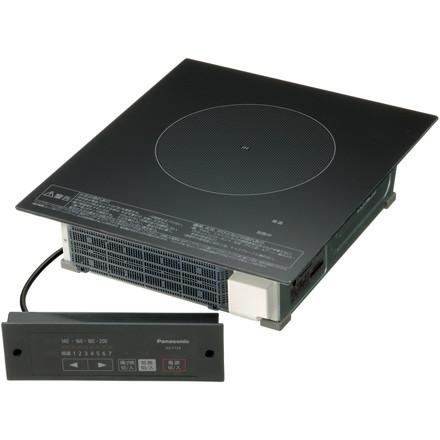 【送料無料】PANASONIC KZ-F12BL [業務用IHクッキングヒーター(1口・ビルトイン・単相200V・操作部コード2m)]