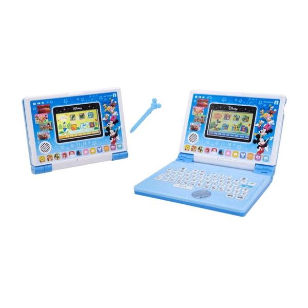 【送料無料】バンダイ ディズニー&ディズニー/ピクサーキャラクターズ パソコンとタブレットの2WAYで遊べる! ワンダフルドリームタッチパソコン