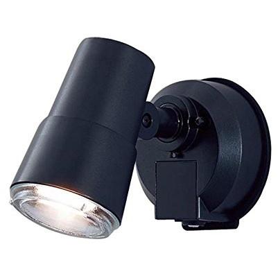 【送料無料】PANASONIC LGWC45001BK オフブラック [LEDスポットライト・勝手口灯(電球色) センサ機能]