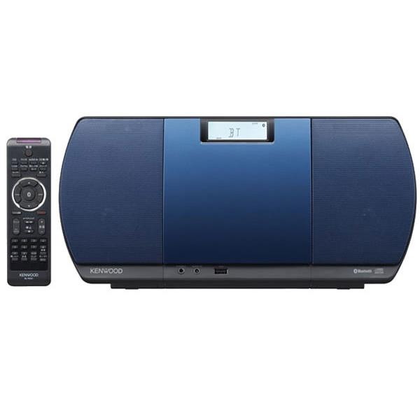 【送料無料】KENWOOD CR-D3-L ブルー [CDミニコンポ(Bluetooth・USB・ワイドFM対応)]