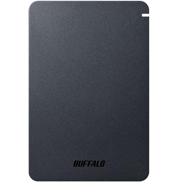 【送料無料】BUFFALO HD-PGF2.0U3-BBKA ブラック [外付けポータブルHDD(2TB・USB3.1 Gen1(USB3.0))]