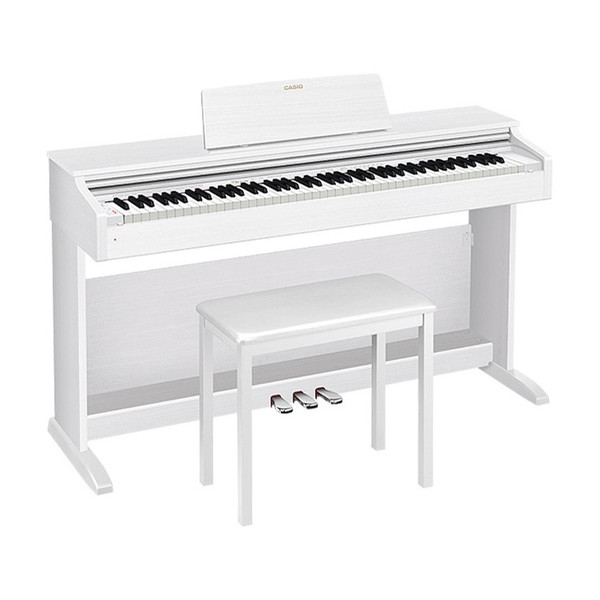 CASIO(カシオ) AP-270WE ホワイトウッド調 CELVIANO [電子ピアノ (88鍵)]【代引き・後払い決済不可】