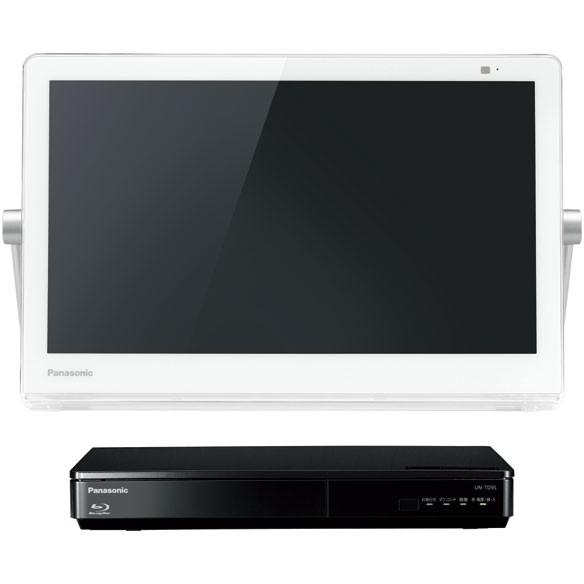 PANASONIC UN-15CTD9 ホワイト プライベート・ビエラ [15V型 HDD500GB レコーダー/ブルーレイディスクプレーヤー(ネットワークディスプレイ付)]
