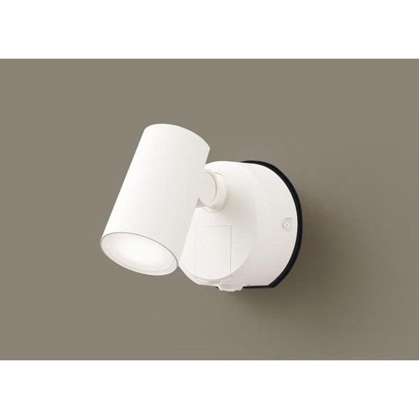 PANASONIC LGWC40387LE1 FreePa [LEDスポットライト (LED(温白色) 壁直付型 拡散タイプ 防雨型・フラッシュ・ON/OFF型・明るさセンサ付 パネル付型)]