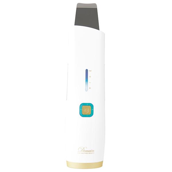 美顔器 1台4役 ウォーターピーリング MUK HN-250PL Demain(デュマン) アクアスキンピーリング イオン導入 美肌 クレンジング 毛穴 引締め 古い角質 メイク汚れ 黒ずみ 皮脂汚れ 肌ケア 贈り物に最適