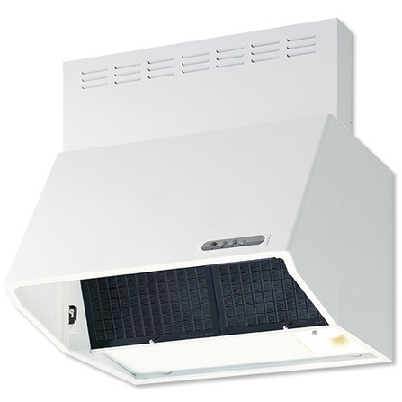 スロットフィルタ ファンシークリーン 取り付け簡単 特売 リフォーム 付け替え 富士工業 BDR-3HL-601W ホワイト 60cm幅 換気扇 レンジフードファン キッチン 排気 壁面取付け BDR3HL601 本物 深型