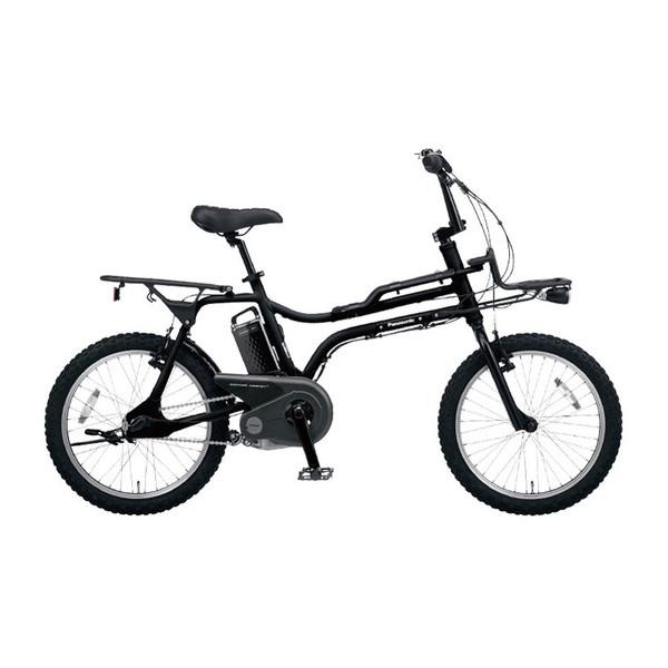 【送料無料】PANASONIC BE-ELZ033B マットナイト EZシリーズ [電動アシスト自転車(20インチ・内装3段)]【同梱配送不可】【代引き・後払い決済不可】【本州以外配送不可】