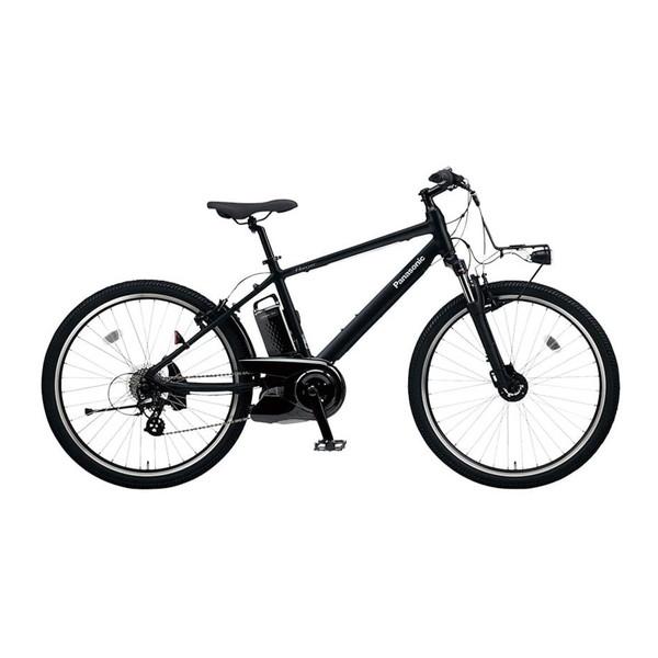 PANASONIC BE-ELH342B マットナイト ハリヤ [電動アシスト自転車(26インチ・外装7段)]【同梱配送不可】【代引き・後払い決済不可】【本州以外配送不可】