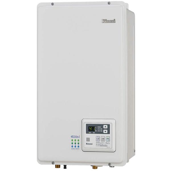Rinnai RUX-E2010FFB-13A ユーロホワイト エコジョーズ 給湯専用 [ガス給湯器(都市ガス用) 屋内壁掛型 20号 FF方式]