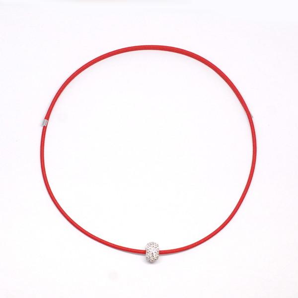 サンシャレーヌ オトナ(S)RED 大人の癒し [磁気ネックレス] ネックレス 磁気ネックレス 磁気アクセサリー マグネットネックレス 肩こり 首こり 頭痛 健康 運動不足 姿勢 医療機器認証 取り外し簡単