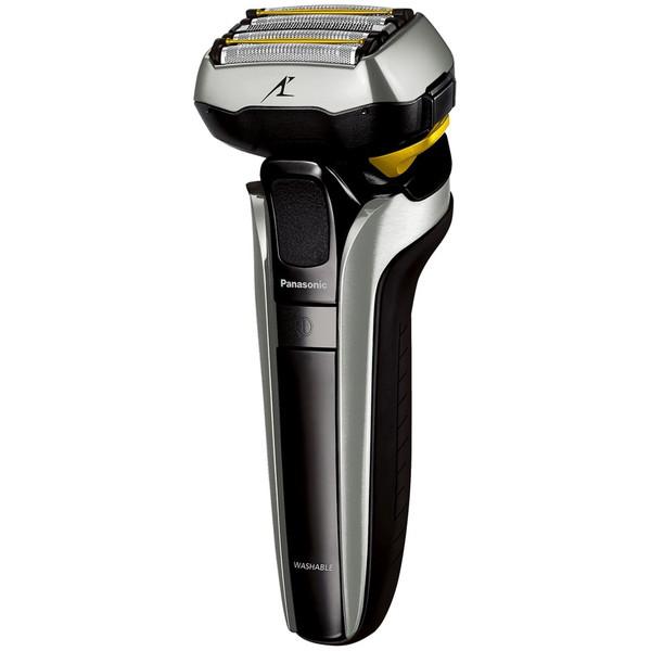 シェーバー メンズ パナソニック 5枚刃 ES-LV9EX-S ラムダッシュ 髭剃り 防水 水洗い海外使用可 急速充電 日本製(本体のみ) ロック機能 全自動洗浄 音波洗浄 収納ケース付 誕生日 贈り物におすすめ ESLV9EX