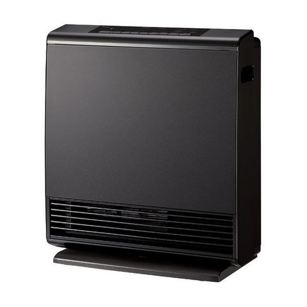 【送料無料】Rinnai RC-W4401NP-MB-13A マットブラック A-style [プラズマクラスター技術搭載ガスファンヒーター 都市ガス12A・13A用(木造12畳/コンクリ16畳まで)]