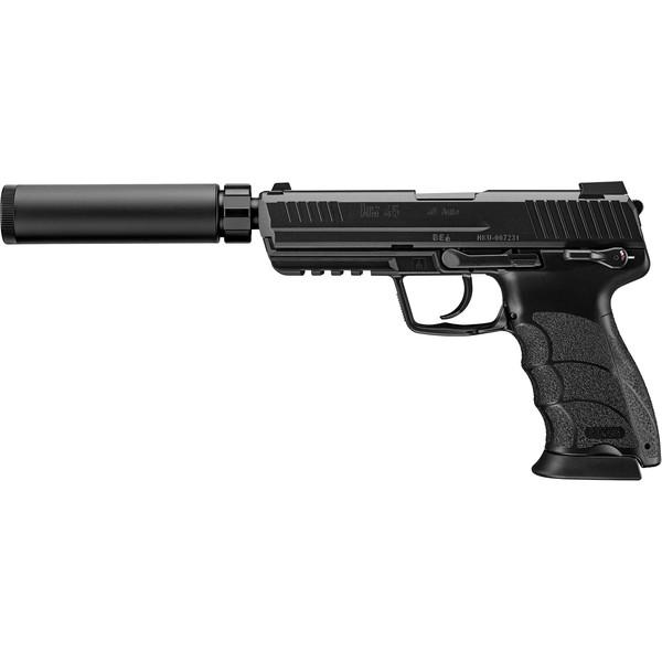 HK45にサイレンラー装備!!洗練されたブラックカラーで登場! 東京マルイ HK45 タクティカル ブラック