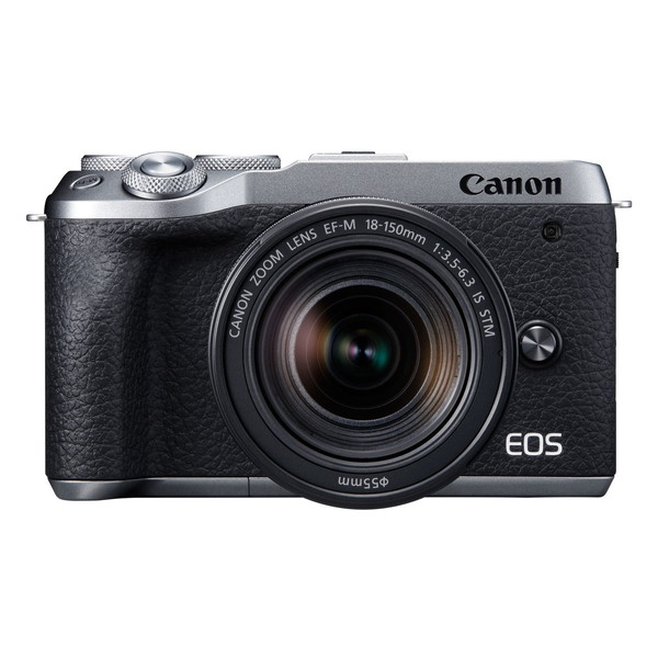 CANON EOS M6 Mark II シルバー EF-M18-150 IS STM レンズキット [ミラーレス一眼カメラ(3250万画素)]