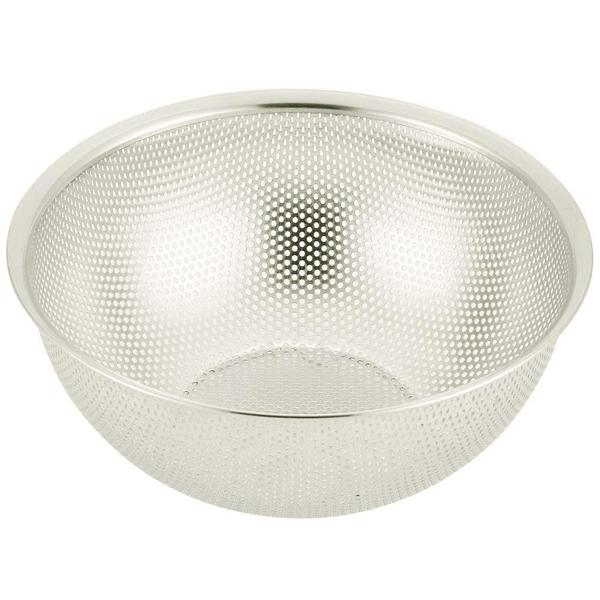ステンレス製で錆びにくくお手入れ簡単 貝印(株) パンチング ボール 24cm DF-5411