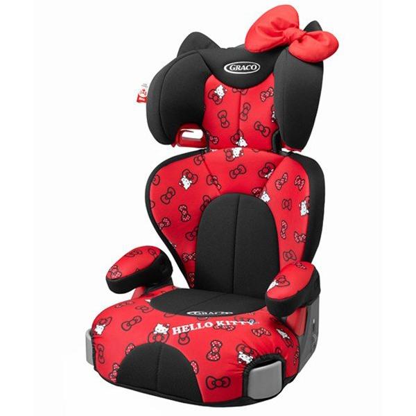 お子さまが乗りたくなるデザイン Aprica ジュニアプラスDX ハローキティ グレコ RD オンラインショップ 正規品 ジュニアシート