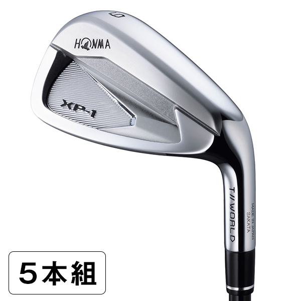 本間ゴルフ(HONMA) ツアーワールド TW XP-1 アイアンセット 5本組(#6-10) VIZARD 43 シャフト S 【日本正規品】