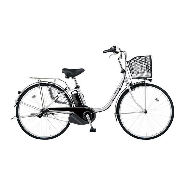 PANASONIC BE-ELSX432-S2 シャイニーシルバー ビビ・SX [電動アシスト自転車(24インチ・内装3段)]【同梱配送不可】【代引き・後払い決済不可】【本州以外配送不可】