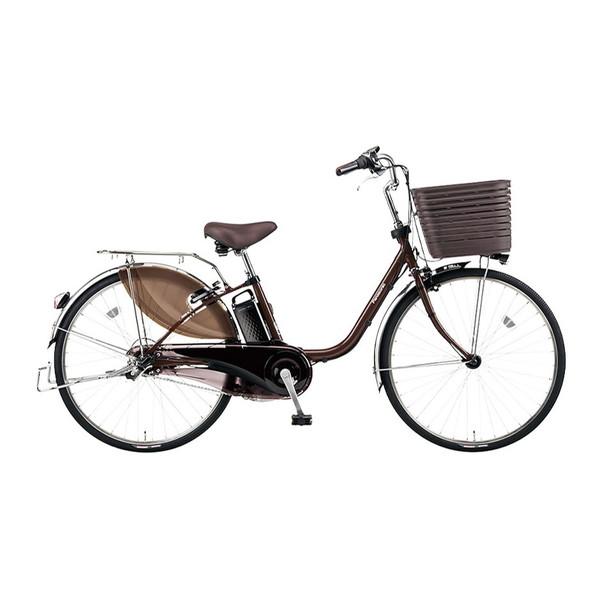 PANASONIC BE-ELD436-T チョコブラウン ビビ・DX [電動アシスト自転車(24インチ・内装3段)]【同梱配送不可】【代引き・後払い決済不可】【本州以外配送不可】