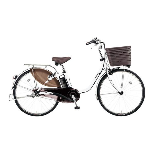 PANASONIC BE-ELD636-F アクティブホワイト ビビ・DX [電動アシスト自転車(26インチ・内装3段)]【同梱配送不可】【代引き・後払い決済不可】【本州以外配送不可】