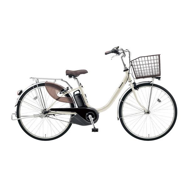 PANASONIC BE-ELL632-S ウォームシルバー ビビ・L [電動アシスト自転車(26インチ・内装3段)]【同梱配送不可】【代引き・後払い決済不可】【本州以外配送不可】