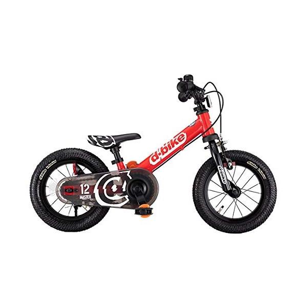 ides D-Bike マスター 12 EZB レッド(50453)【同梱配送不可】【代引き・後払い決済不可】【沖縄・離島配送不可】