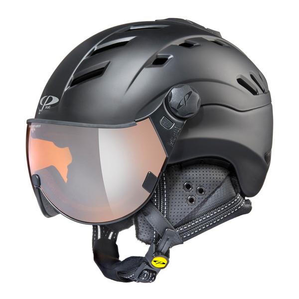 EVERNEW CPC2006-L CP CAMURAI BKB [ウィンタースポーツ用ヘルメット(L)]