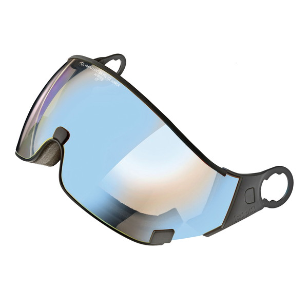 EVERNEW CPC2043 CP brown polarized vario ice mirror 2.7 [ウィンタースポーツ用ヘルメット 交換用バイザーミラーレンズ]