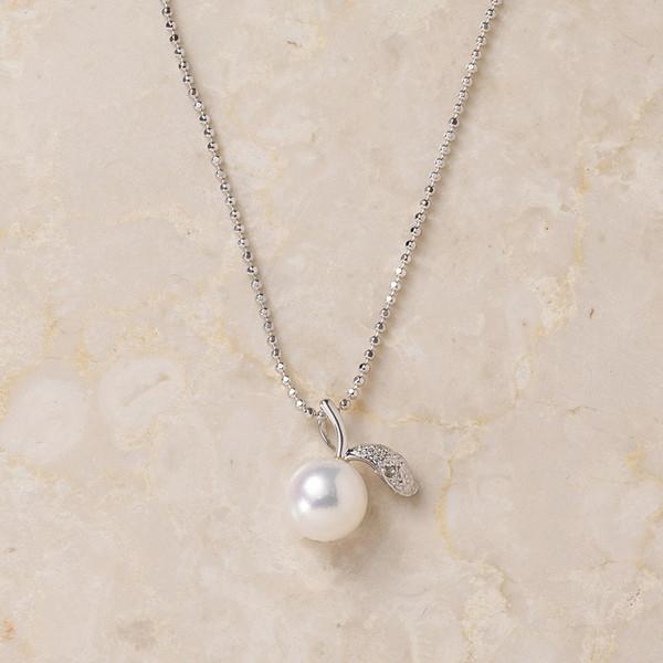 ベストセレクション アコヤ真珠リンゴペンダント CH800SARN