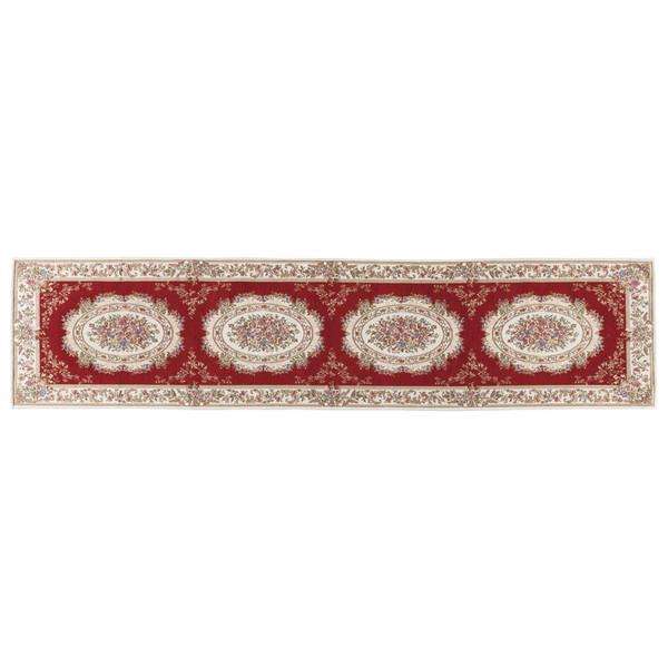 フランス王朝時代に生まれたゴブラン織は クラシックな重厚感と気品ある華やかな柄が特徴です 送料0円 ゴブラン織廊下敷 正規店 YAN138L34R
