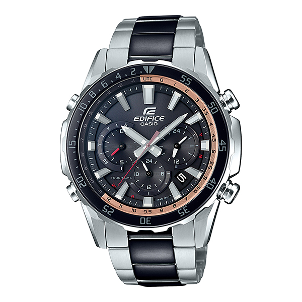 CASIO(カシオ) EQW-T670SBK-1AJF エディフィス [ソーラー充電腕時計(メンズ)]