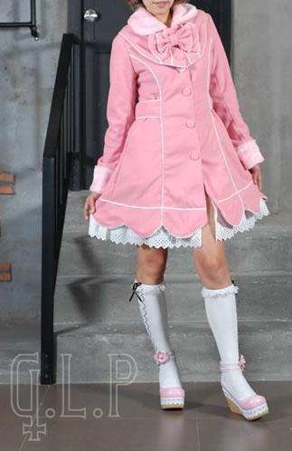 【ハロウィン】【ロリィタ】【ゴスロリ】+G.L.P81018ピンクジャケット 【送料無料】【smtb-MS】
