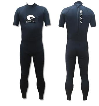 2020年 送料無料ウェットスーツ シーガル スーツ ウエットスーツ Branche 3mm ブラック ML ウェットスーツ サーフィン ダイビング