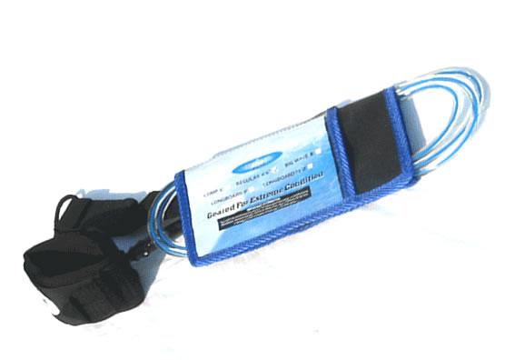 リーシュコード 2018年リーシュコード ダブルスゥイベル使用 6'6 正規激安 ブルー ラッピング無料 クリア
