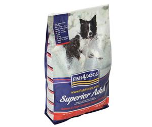 【キャッシュレス5%還元】フィッシュ4ドッグ スーペリア アダルト 12kg(6kg×2)【fish4dog】【成犬用】【ドッグフード/ペットフード/ドライフード/dog/犬】【10P05Nov16】