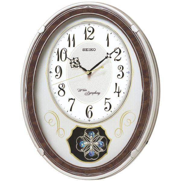 電波メロディ掛時計 (AM259B) [キャンセル・変更・返品不可]