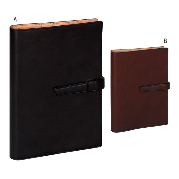 ダ・ヴィンチ A5サイズ システム手帳 ブラック (DSA1702B) [キャンセル・変更・返品不可]