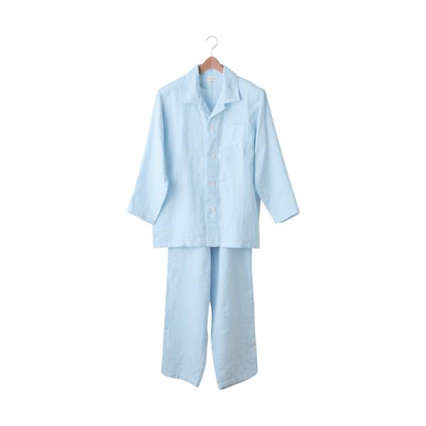 マシュマロガーゼメンズパジャマ Lサイズ (RC15680L) [キャンセル・変更・返品不可]