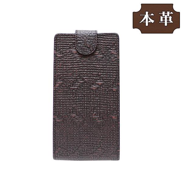 APPLE アップル iPhone XR (6.1インチ) 専用 手帳型スマホケース 縦開き 牛革 ブラウン (LW227-V) [キャンセル・変更・返品不可][代引不可][同梱不可][ラッピング不可][海外発送不可]