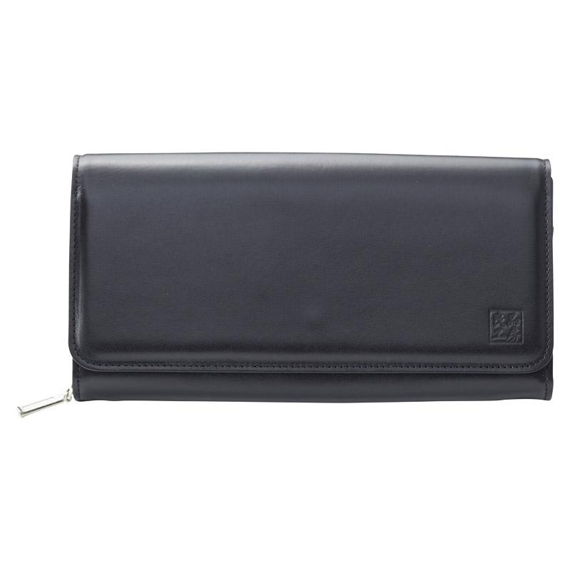 日本製牛革ジャバラ財布 (K18-243) [キャンセル・変更・返品不可]