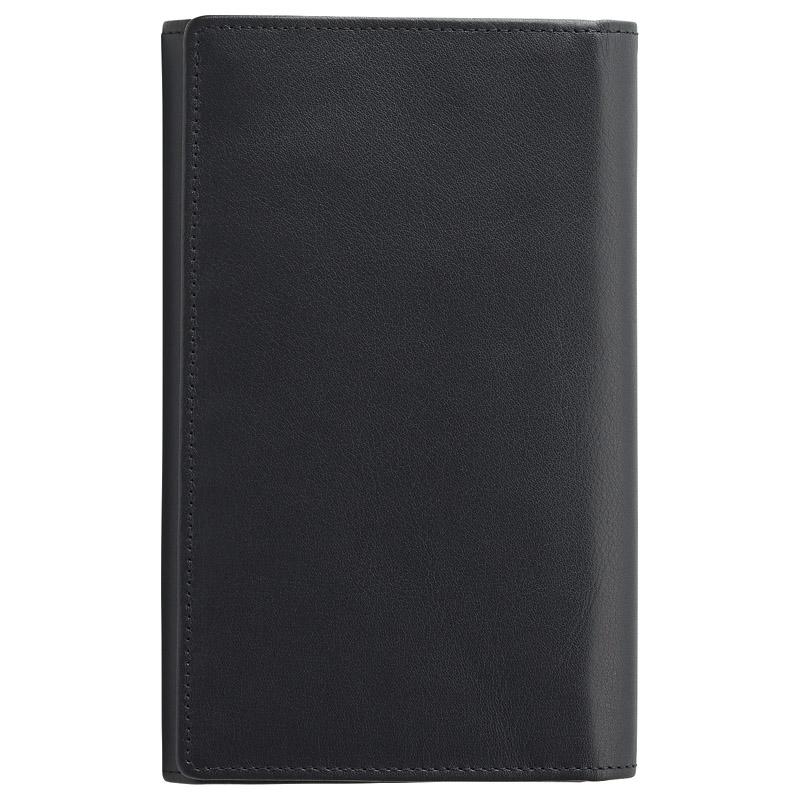 ソフトオイルレザー カード24枚収納財布(ブラック) (TA40-01) [キャンセル・変更・返品不可]