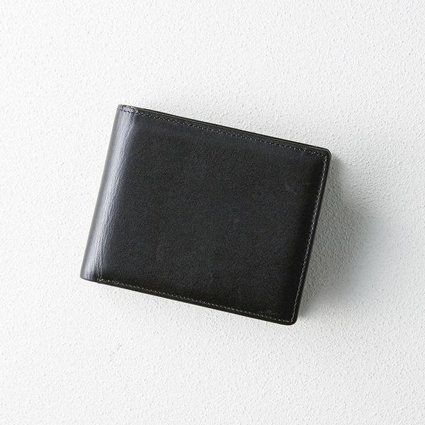 日本製牛革中べら付き札入れ (K18-242) [キャンセル・変更・返品不可]