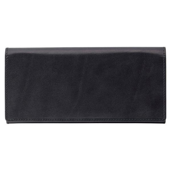 ジョセフエロール 栃木レザー長財布 ブラック (63JE35-10) [キャンセル・変更・返品不可]