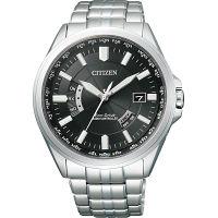シチズン メンズ電波腕時計 ブラック (CB0011-69E) [キャンセル・変更・返品不可]