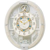 セイコー メロディ電波からくり掛時計(39曲入) (RE576A) [キャンセル・変更・返品不可]