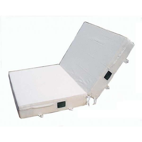 P-70 二ツ折式室内用ノンスリップ型エバーマット エステル4号帆布 [ラッピング不可][代引不可][同梱不可]
