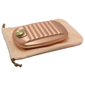 新光堂 純銅製湯たんぽ(小) S-9395S [ラッピング不可][代引不可][同梱不可]